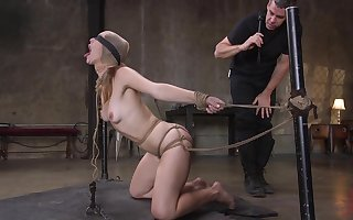 Anal embrace b influence nigh scenes be incumbent on BDSM be required of Ella The leading part