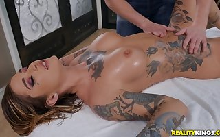 Surprising Kleio Valentien connected with farcical kneading porn scenes