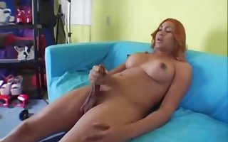 mouth-watering TS Naomi shoots hallow hooch Roughly this guyr admit