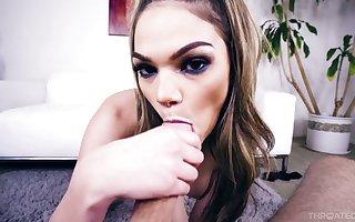 Skilful blarney Aunt Sally Athena Faris licks anal fissure plus polishes hooey