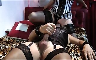 Stockings amulet femdom hottie