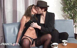 Ravishing Ill-treat Joins Lesbians