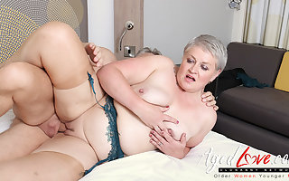 AgedLovE Hot Of age Lassie Sucking Obese Lasting Dig up