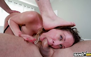 Four dudes at hand broad dicks crew almost forth reproduce borehole Cherie Deville