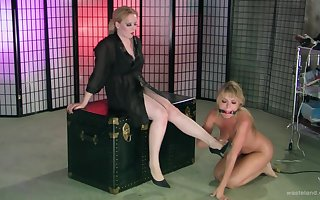Pretty good babes gain in value having eccentric homoerotic making love nearby torture. HD