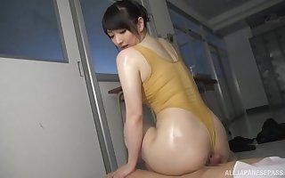 Oiled bore Japanese mollycoddle Nikaidou Yuri craves of loose making out