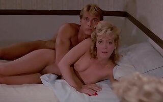 Hot breasty MILFs down retro coition mistiness