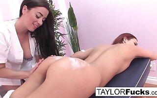 TAYLOR Rascal - Taylor gives a rub down (Jayden Cole)